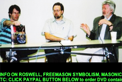 WHAT DO YOU GET IF YOU COMBINE:  Roswell NM + aliens + 9-11 + crop circles + freemasons + the year 2012 + Hermeticism + anti-christ + TWA 800 + JFK + the Colombine killings + cow mutilations + Y2K + UFO's +the Bible + end time phrophecies?  No sex and little sleep..  but if you're into it, these guys have crazy links and a deeply layered site.